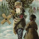 Новогодние открытки, дореволюционная Зворыкина