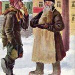 Праздничные дореволюционные открытки. Масленица