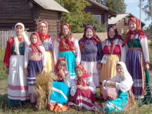 В деревне