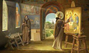 «Тро́ица» — икона Святой Троицы, написанная Андреем Рублёвым в XV веке.