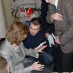 Вадим Грачев на встрече с Наталией Алексеевной Нарочницкой.