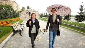 Алина Станиславовна Покровская и журналист Максим Васюнов