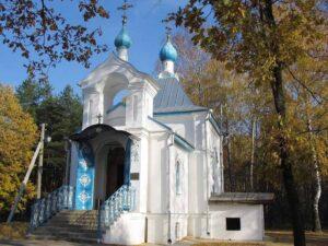 Часовня в честь св. пр. Сергия Радонежского на погосте в Пензе.