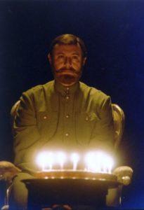 Актер Юрий Соломин в роли императора Николая II