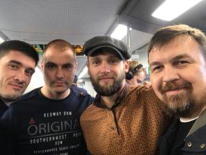 Денис Антипов, Вадим Грачев с друзьями