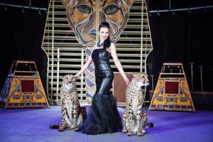 Дарья Костюк, гепарды, цирк