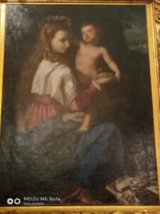 Мадонна в цветочном венке