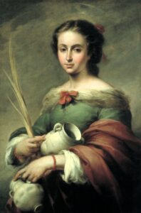 Живопись Мурильо. Св. Руфь, 1665.