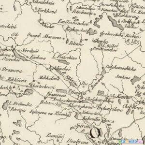 Карта Российской империи, составленная для Наполеона.