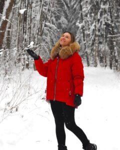Актриса Ольга Фадеева, Новый год, Рождество, поздравление, пожелание