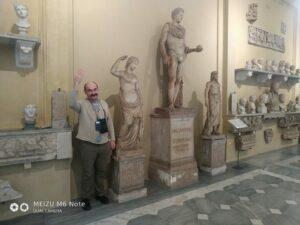 Андрей Приписнов, Италия, скульптуры, Микеланджело.