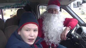 Волшебный автобус «Merry Christmas» - праздники продолжаются