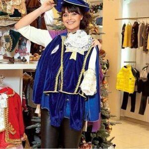 Оксана Фёдорова, Новый год, новогодний костюм