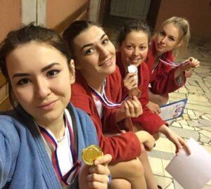 Анастасия Аммосова и коллектив САМБО