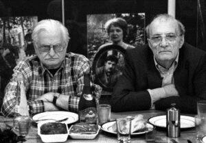 Марлен Хуциев и Георгий Данелия,  фото Юрия Роста.