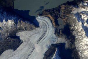 Ледники Патагонии из космоса.