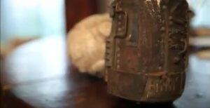 Первая модель пепелаца.