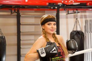 Певица Варвара  - женский бокс