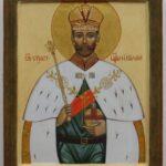 Икона святого царя Николая II
