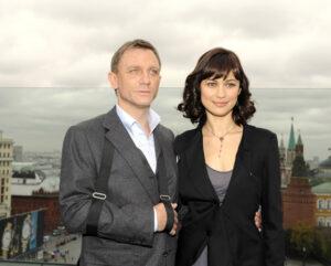 Дэниел Крейг и Ольга Куриленко в Москве