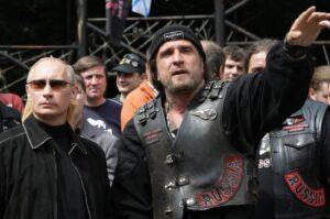 Владимир Путин и Хирург. Два бойца.