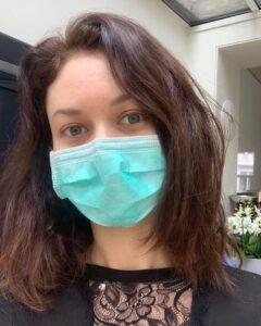 Ольга Куриленко, коронавирус