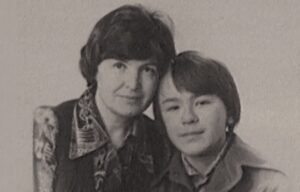 Митрополит Иларион с мамой