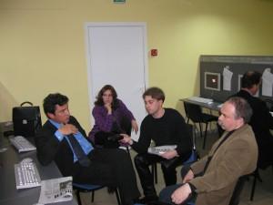 Эксклюзивное интервью с политиком Борисом Немцовым. Журналисты Денис Бессонов и Владимир Лапырин.