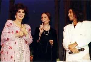 Джина Лоллобриджида, переводчик Светлана Сливинская, Валерий Леонтьев