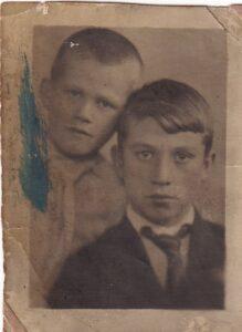 Василий и Фёдор Пупышевы, двоюродные братья моей бабушки.