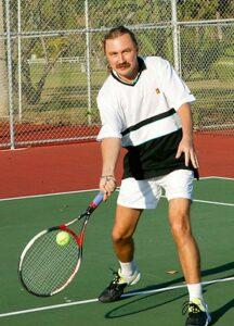 Игорь Николаев, теннис