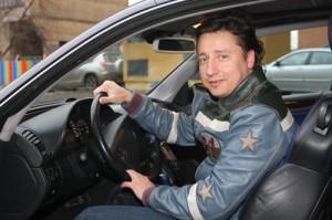 Телеведущий, шоу-мэн Александр Ковалев. Автовладелец