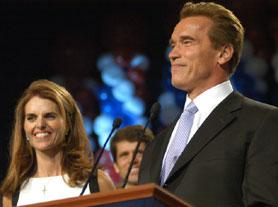 Арнольд Шварценеггер победил на досрочных выборах губернатора Калифорнии