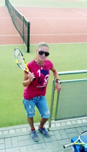 Певица Леана, теннис, спорт