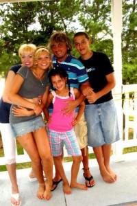 Музыкант Андрей Моргунов и его семья