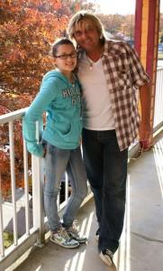 Андрей Моргунов с дочкой. Семья, воспитание детей.