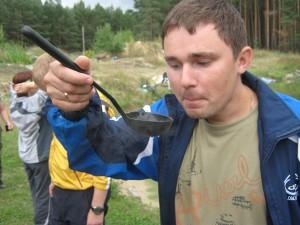 Дмитрий Заславец, отдых, рыбалка