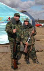 Марина Хлебникова: с ружьем за раками