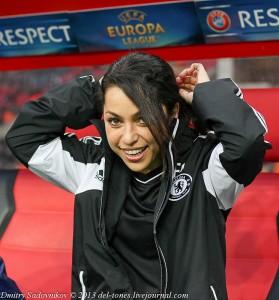 """Ева Карнейро, доктор футбольного клуба """"Челси""""."""