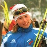 Лыжница Юлия Чепалова