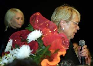 Елена Корикова и Галина Волчек