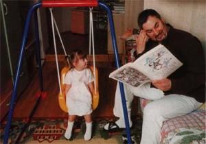Валерий Меладзе с дочкой