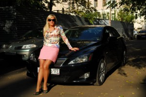 Наталья Гулькина, автомобили