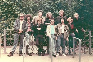 "Группа ""Цветы"" 1989 год."
