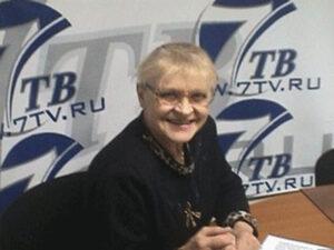 Спортсменка, комментатор Нина Алексеевна Еремина