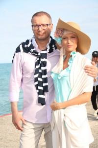 Андрей Ковалев и актриса Олеся Судзиловская