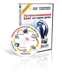 """Обзор курса """"Wordpress – Профессиональный блог за один день"""", обучающий курс"""