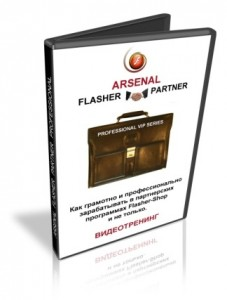 "Обучающий курс ""Arsenal Flasher Partner Professional"""