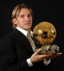 Андрей Шевченко - лучший игрок мира 2004. Золотой мяч.