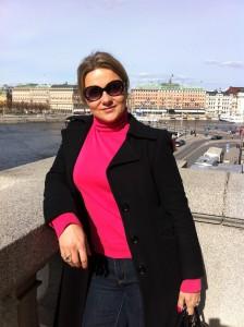 Елена Уитман. Stockholm, Sweden